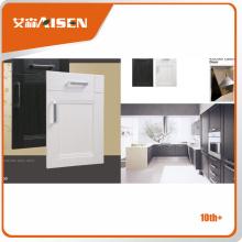 Porta de gabinete de cozinha pvc de alta qualidade