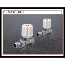 Types de vannes de radiateur de marché commun