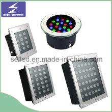 12V / 220V Inoxidable LED exterior enterrado luz para la decoración