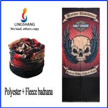 LINGSHANG bandana hat многофункциональный бесшовный труба bandana флис многофункциональный bandana