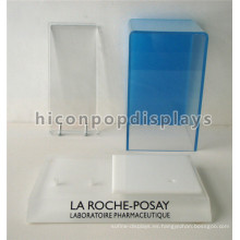 Shopping Mall Cosmética Retail Kiosk Custom Counter Top Pop Acrylic productos para el cuidado de la piel