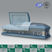 Casket Manufacturer LUXES 18ga Gasketed Casket For USA