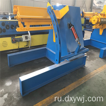 Load+bearing+10t+hydraulic+decoiler+with+car