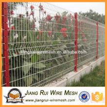 Qualitäts-Sicherheit PVC beschichtete 3D Draht-Ineinander greifen-Zaun