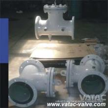 Fabricado en acero y fundido A216 Wcb / A105 con reborde Ss Screen T Colador