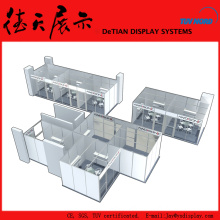 3x3 6x6 20x20 Standard Aluminum Truss Booth For Exhibition Event