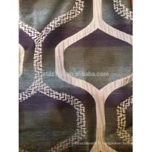 Tissu à carreaux Jacquard en polyester à 100%