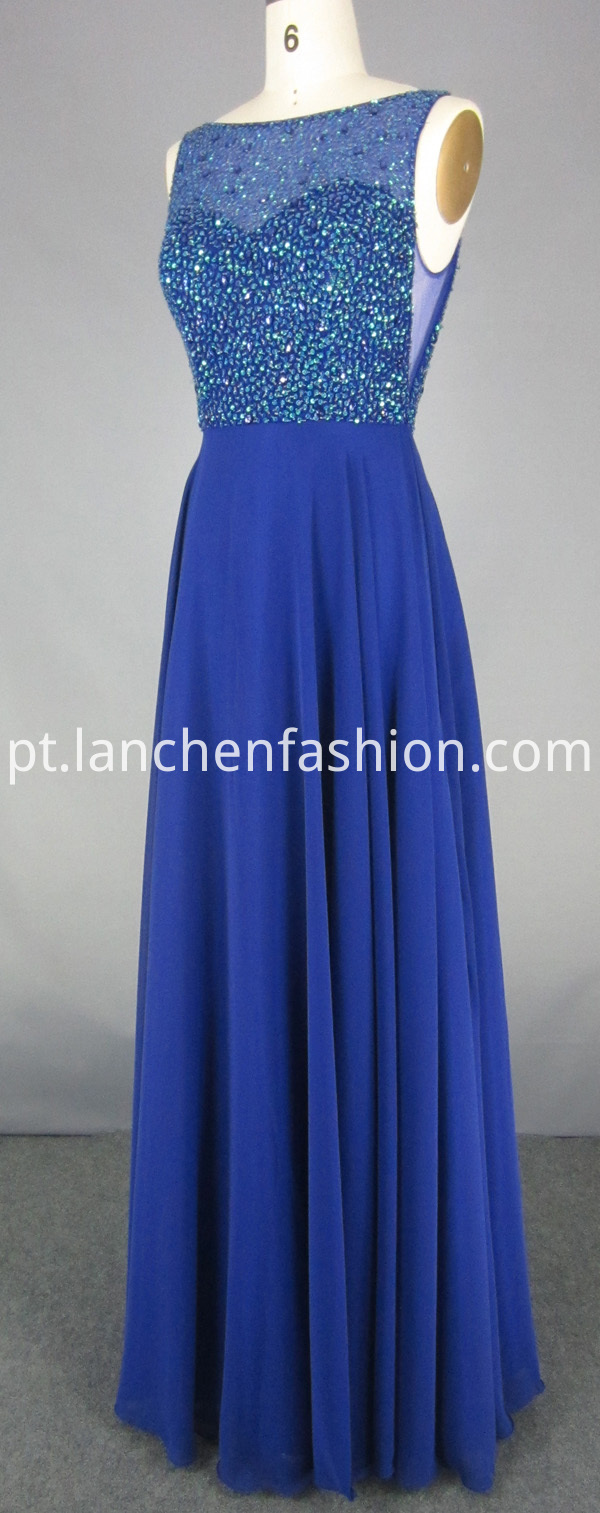 Bridesmaid Dress in Blue