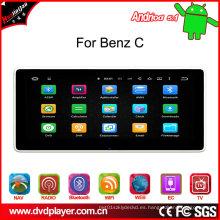 """10.25 """"GPS Tracker para Benz C Android 5.1 Navegación GPS, conexión WiFi, Internet 3G, DAB"""