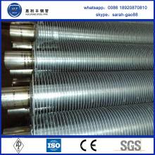Condenseur à tube en cuivre à faible teneur en aluminium à haute qualité