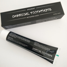 OEM Service Factory Supply Bamboo Activated Charcoal Teeth Whiteing Toothpaste