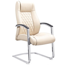 Chaise de conférence de bureau de visite en cuir moderne (HF-D1526)