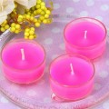 شمعة Tealights Fragranced/لون واحد