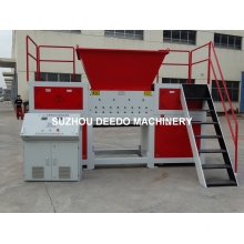 Xb-D Shear Type Double Shaft Shredder para neumáticos
