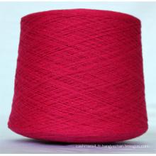 Tissu De Tapis / Textile À Tricoter / Crochet Yak Laine / Tibet-Sheep Wool Blanc Naturel Fil