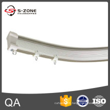 2015 hot new product bendable curtain track gliders plastic