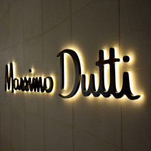 Halo Lit LED Channel Letter Signs pour la boutique