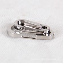 2pcs titane alliage trousseau personnel accessoires porte-clés
