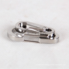 2pcs titanium alloy keychain personal accessory key rings