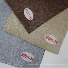 Decoración de pared de piel de gamuza Comercio al por mayor de tela de piel sintética (HS001 #)