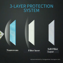 Medical disposable three layers face mask