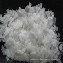 La mayoría de productos populares para la fabricación de hojuelas de soda cáustica para caucho.