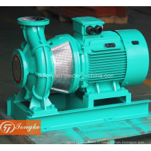 Transfert d'eau d'alimentation Pompe à eau de refroidissement avec moteur électrique