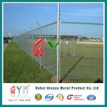 Qym-Decorative Chain Link Fence