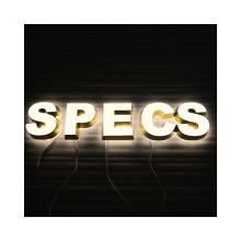 Customized LED Channel Letter Signs New Design Custom Mini Channel Letters 3D Waterproof LED Acrylic Letters
