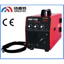 IGBT Inverter gás CO2 escudo Panasonic Mig máquina de solda (Mig-150) com preço econômico