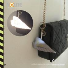 Reflektierender Aufhänger, reflektierender Taschen-Aufhänger, reflektierender Flügel-Aufhänger mit CER En13356