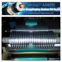 Двусторонняя ламинированная алюминиевая лента для кабельного экранирования для воздуховодов