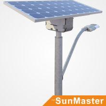 Projeto gerenciado 5years garantia lampadas luzes de rua Solar Painel Solar energia solar