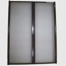 Good Quality for China Roller Insect Screen Door,Screen Rolling Tool,Curtain Door Manufacturer Double cassette rolling fly screen doors export to Western Sahara Exporter