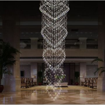 hanging blown glass chandelier lighting fixtures