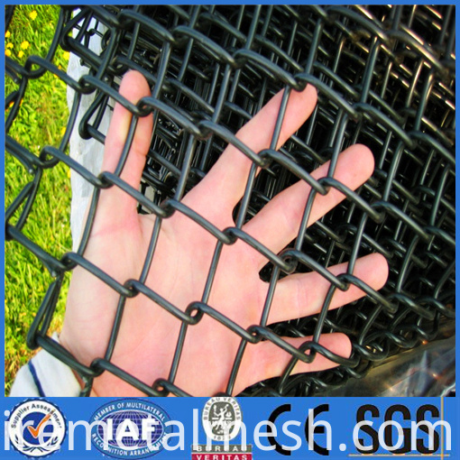pvc chain link fence picture