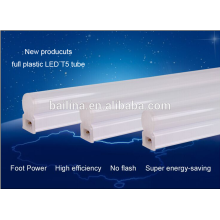 Full plastic lamp body high stability constant current drive 18W t5 led tube g5