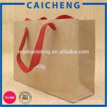 bolsa de almacenamiento de papel kraft lavable