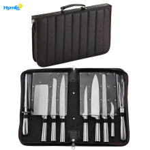 Stainless Steel 9 Piece Chefs Knife Set in Case