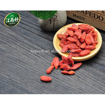 Vente chaude de baies de goji avec raisonnable de Jiangnanhao