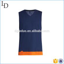 Alta qualidade ginásio camisola de beisebol esportivo venda quente camisola de alças