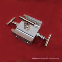 Colector de tres válvulas / válvula de aguja (GA1161)