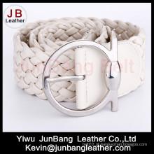 Cinturão de tecelagem de trança feminina de moda nova