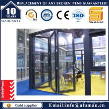 Puerta plegable de aluminio de ahorro de energía / Bi-Fold