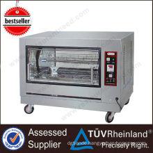 Full Series Kitchen Equipment Chicken Gas bbq with rotisserie