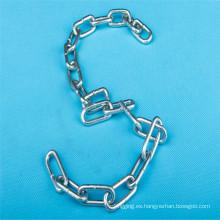 Galv DIN764 soldado eslabón de la cadena