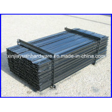 Heavy Duty Black Painted /Galvanized Fence Post