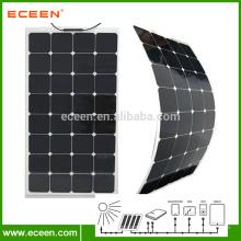 Monokristall Silicon 100W Flexible Sonnenkollektoren