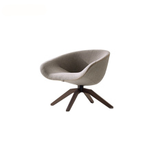 Italia Swivel Base Armrest Mart Lounge Chair
