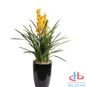 Home & Office Decoration Fiori artificiali con vaso